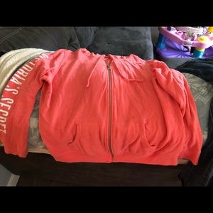 Victoria secret lightweight hoodie